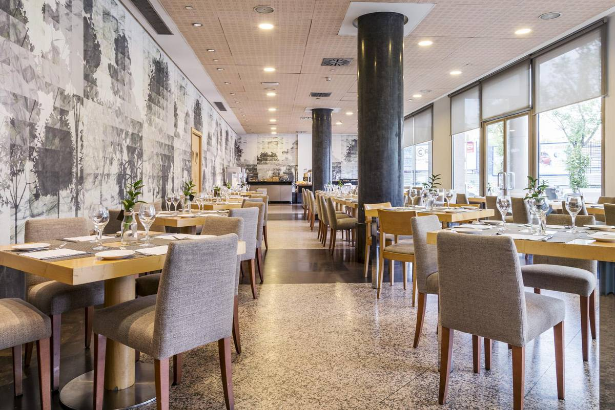 Restaurante ilunion alcalÁ norte hotel ilunion alcalá norte madrid